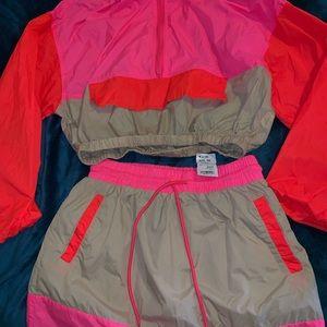 2 Piece multicolor Skirt Set.... Size Medium